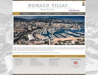 monaco-villas.com screenshot
