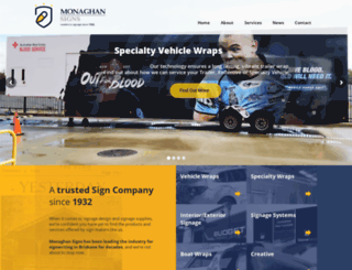 monaghansigns.com screenshot