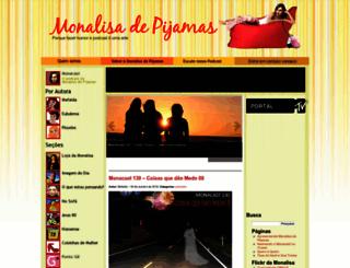 monalisadepijamas.com.br screenshot