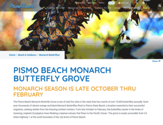 monarchbutterfly.org screenshot