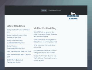 monarchfans.com screenshot