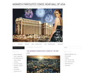 monarchparksuitescondo.wordpress.com screenshot