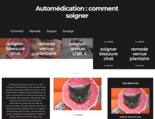 monautomedication.fr screenshot
