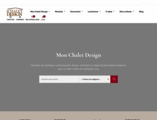 monchaletdesign.com screenshot