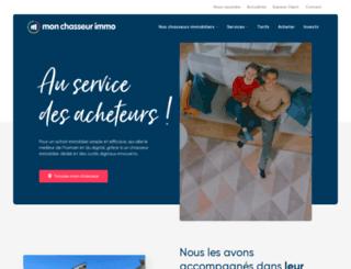 monchasseurimmo.fr screenshot