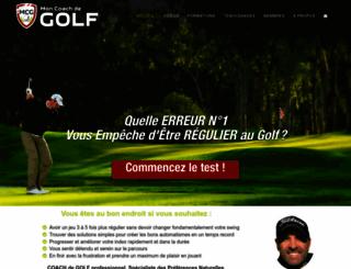 moncoachdegolf.com screenshot