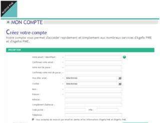 moncompte.agefa.org screenshot
