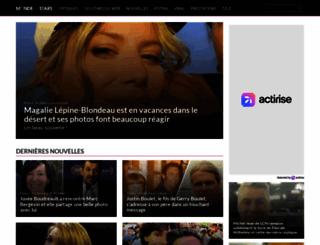 mondedestars.com screenshot