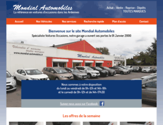 mondial-automobiles.fr screenshot