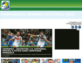 mondial2014.ro screenshot