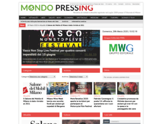 mondopressing.com screenshot