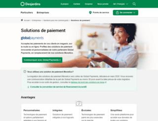 monetico.ca screenshot