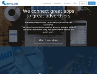 monetize.revmobmobileadnetwork.com screenshot