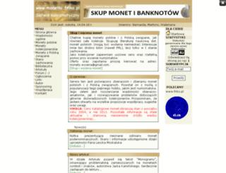 monetki.friko.pl screenshot
