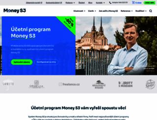 money.cz screenshot