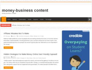 moneybusinesscontent.com screenshot