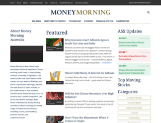 moneymorning.com.au screenshot