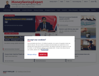 moneysavingexpert.com screenshot