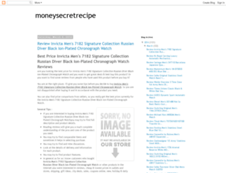 moneysecretrecipe.blogspot.com screenshot