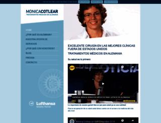 monicacotlear.com screenshot