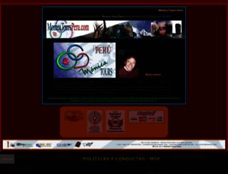 monicatoursperu.com screenshot
