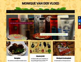 moniquevandervloed.nl screenshot