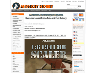 monkeyhobby.com screenshot