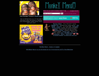monkeymania.co.uk screenshot