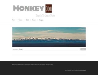 monkeyooh.com screenshot