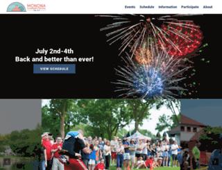 mononafestival.com screenshot