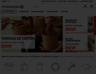 monouso.es screenshot