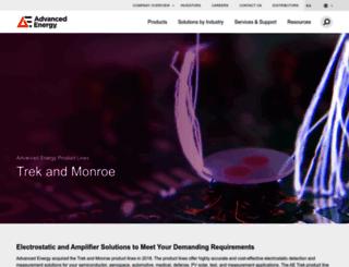 monroe-electronics.com screenshot