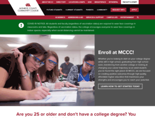 monroeccc.edu screenshot