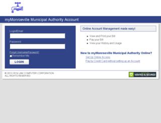 monroeville.authoritypay.com screenshot