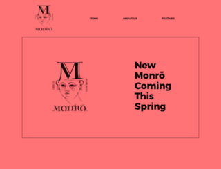 monromian.com screenshot