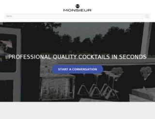 monsieur.co screenshot