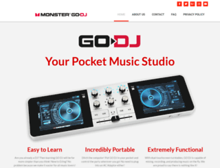 monstergodj.com screenshot