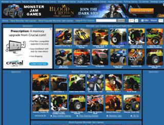 monsterjamgames.net screenshot