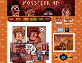 monsterkind.enenkay.com screenshot