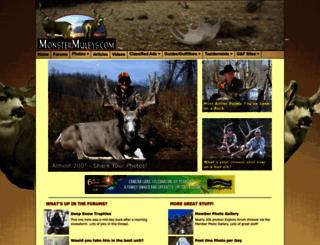 monstermuleys.com screenshot