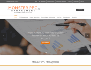 monsterppc.com screenshot