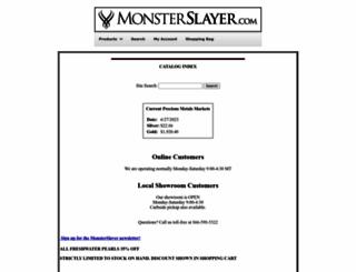 monsterslayer.com screenshot