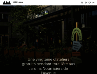 mont-royal.net screenshot