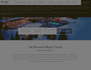 montagedeervalley.com screenshot