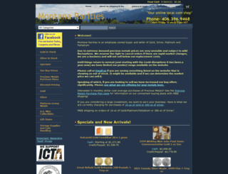 montanararities.com screenshot