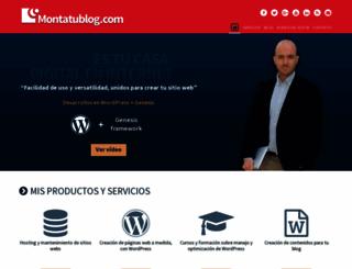 montatublog.com screenshot