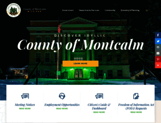 montcalm.org screenshot