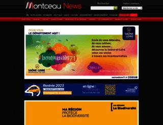 montceau-news.com screenshot