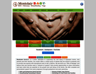 montclairbaby.com screenshot