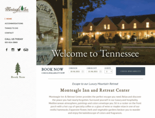 monteagleinn.com screenshot